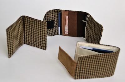 carteras hechas a mano de tela
