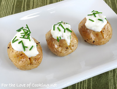Mini Baked Potatoes