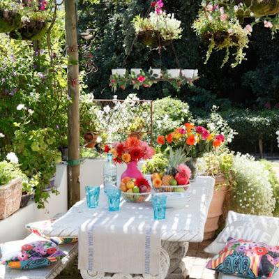 Mẹo hay trang trí vườn