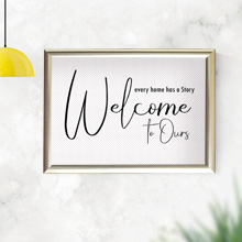 Welcome to our story wall frame, framed print in Port Harcourt, Nigeria