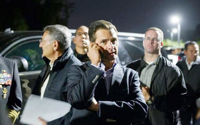 Smartphone de Peña Nieto