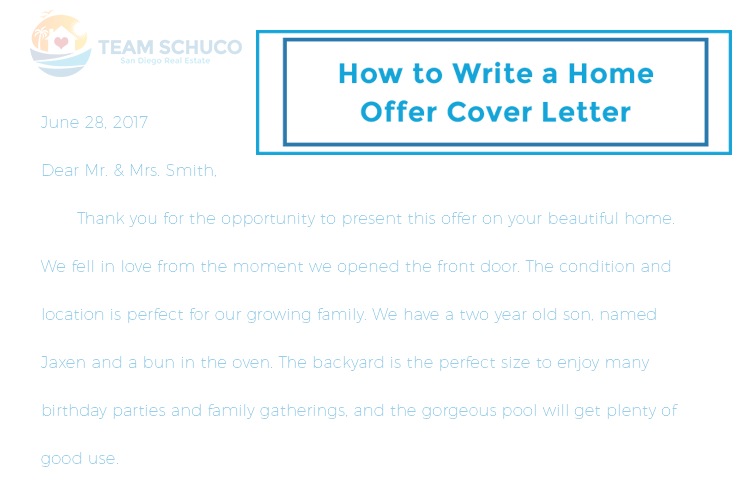 7 Tips On Writing A Home Offer Cover Letter