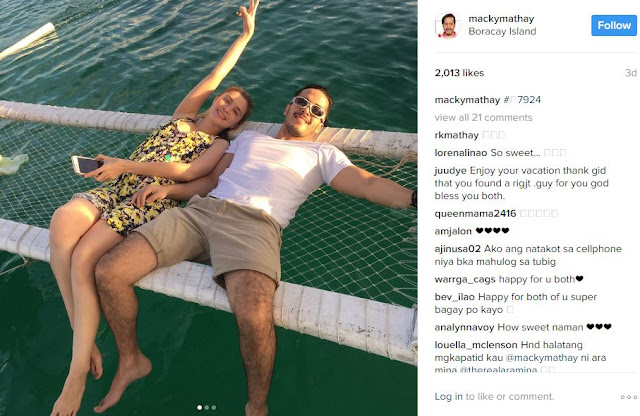 Sunshine Cruz and Boyfriend Macky Mathay Share Photos of Sweet Boracay Escapade Together!