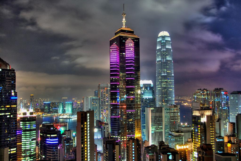 Sportstars: Hong Kong Skyline HD Wallpapers
