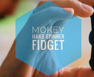 Der MOKEY Hand Spinner | Ein Fidget als Männer Gadget