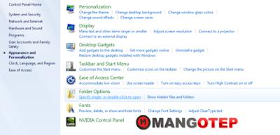 Windows 7 : Cara Menampilkan Folder yang di Hidden (Sembunyikan)