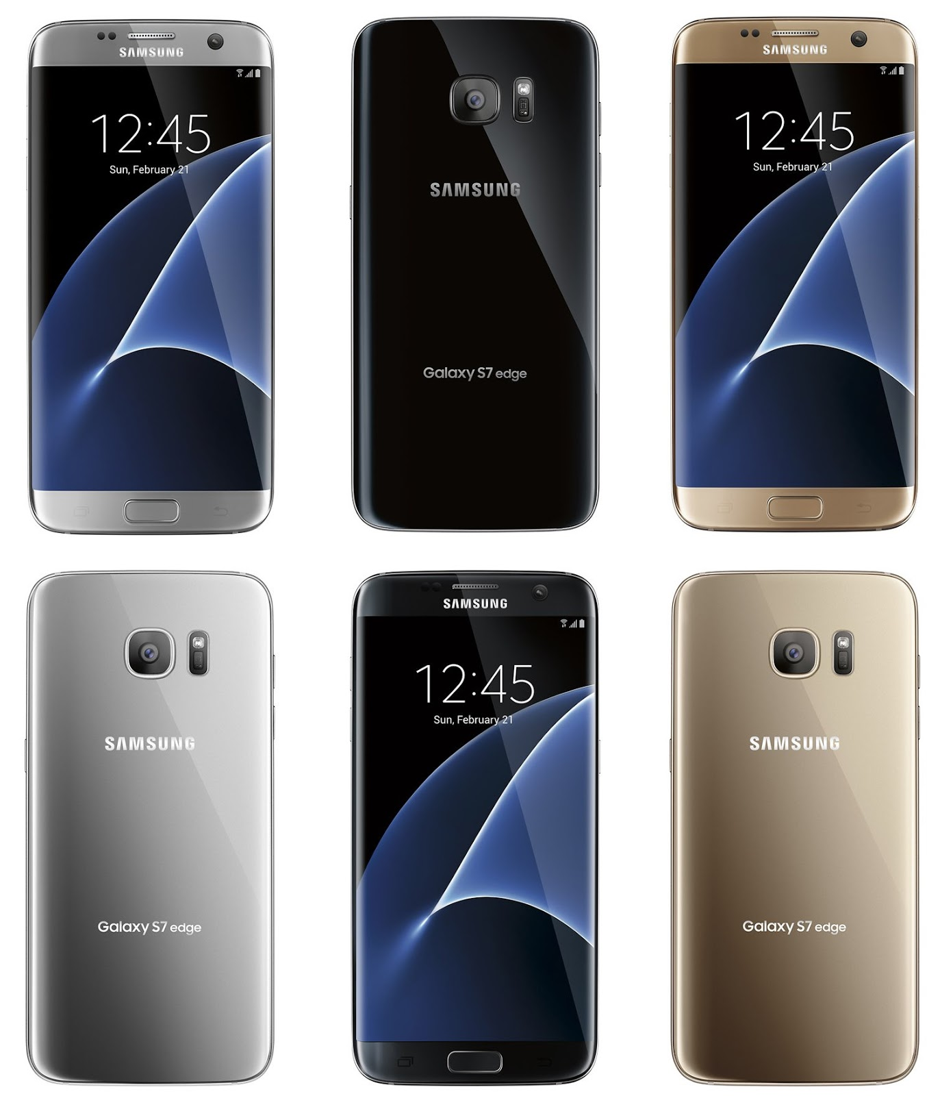 [Leaked] Samsung Galaxy S7 Edge Will Come in Three Colors