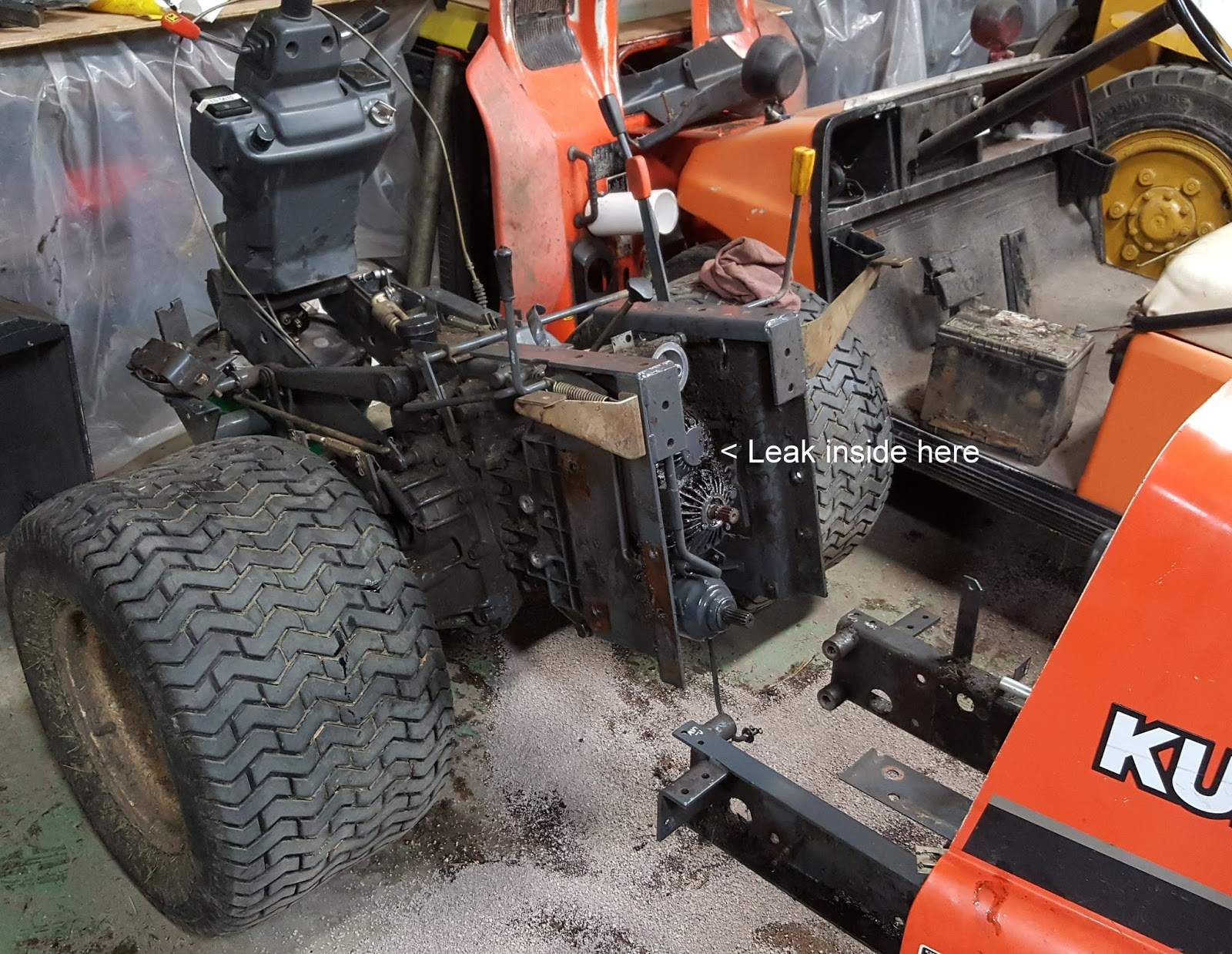 Sugar Creek Golf Course Blog: Kubota Mower Repair