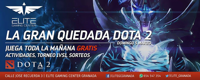 Elite Gaming Center Granada dota 2