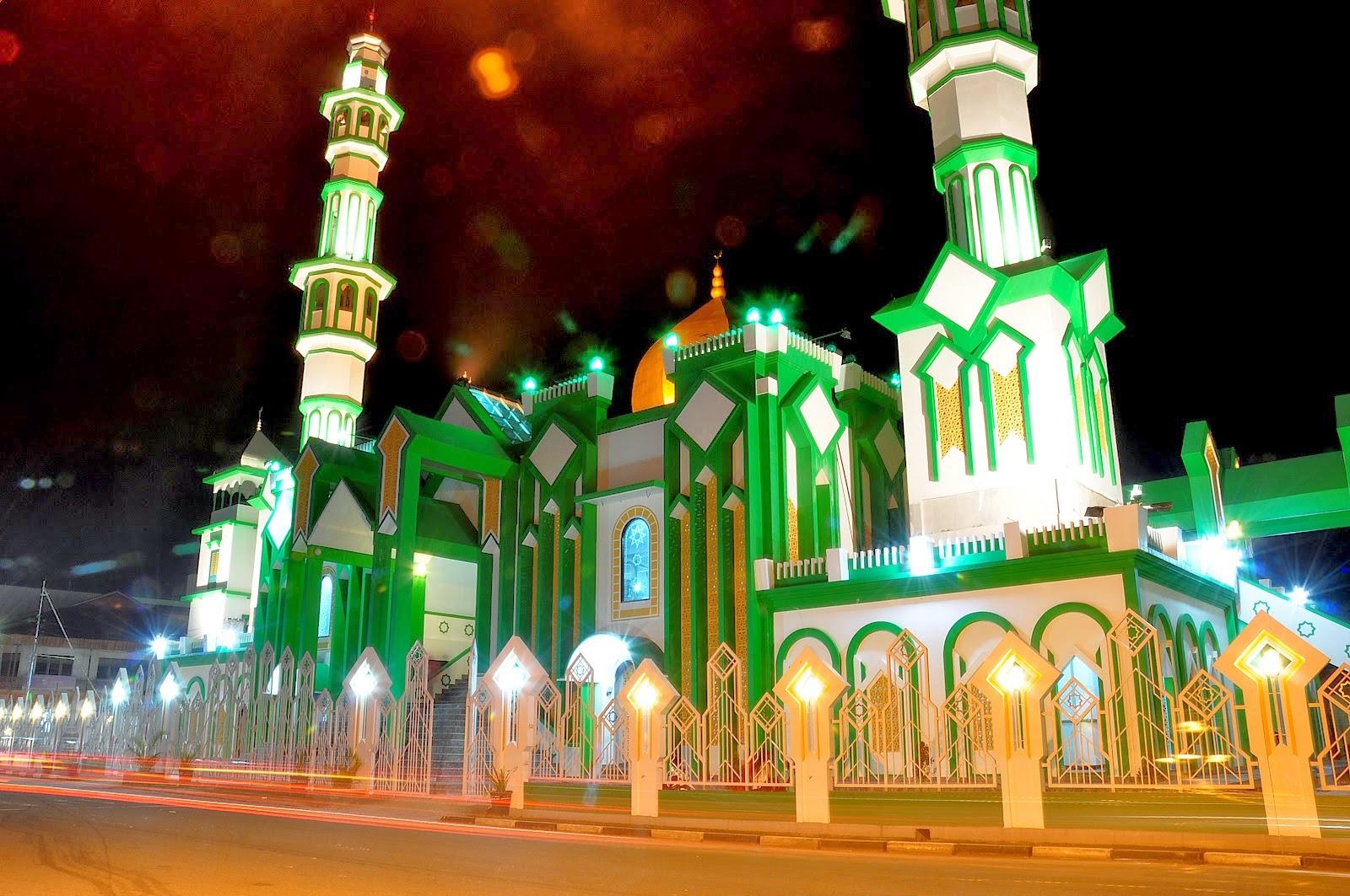 photo masjid raya singkawang