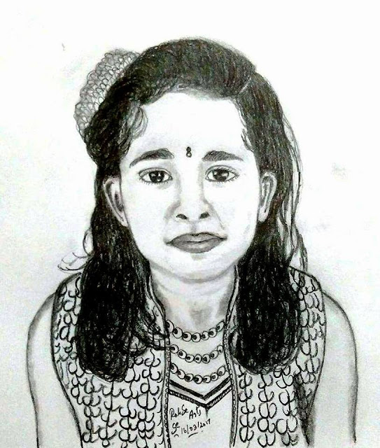 PENCIL DRAWING - Arundhati Dutta