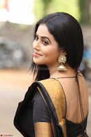 Poorna in Cute Backless Choli Saree Stunning Beauty at Avantika Movie platinum Disc Function ~  Exclusive 023.JPG