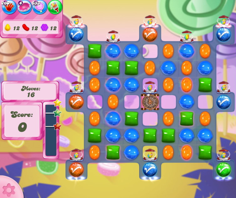 Candy Crush Saga level 2605