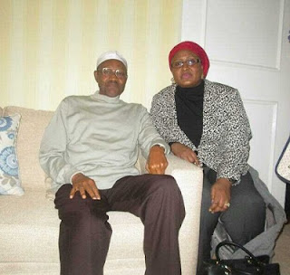 Muhammadu Buhari and Aisha