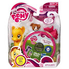 MLP Single with DVD Applejack Brushable Pony