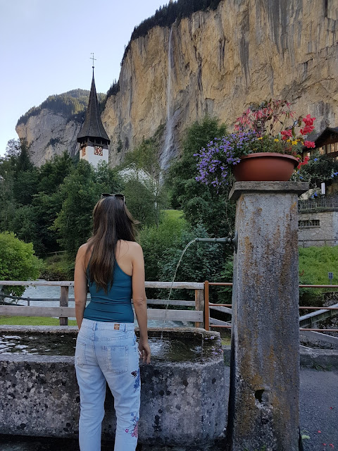 Viagem a Suíça, Lauterbrunnen