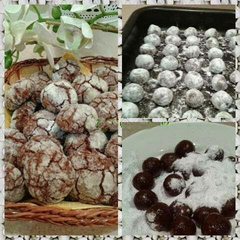 Resep Chocolate Cookies Ala Timur Tengah