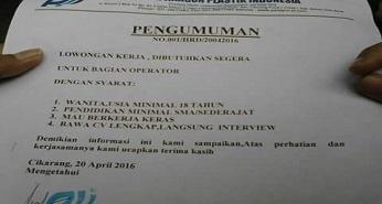 PT. Paragon Plastik Indonesia cikarang