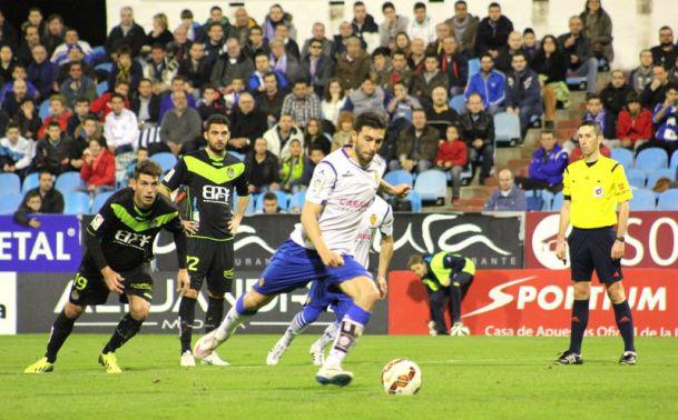 Real Zaragoza vs Llagostera