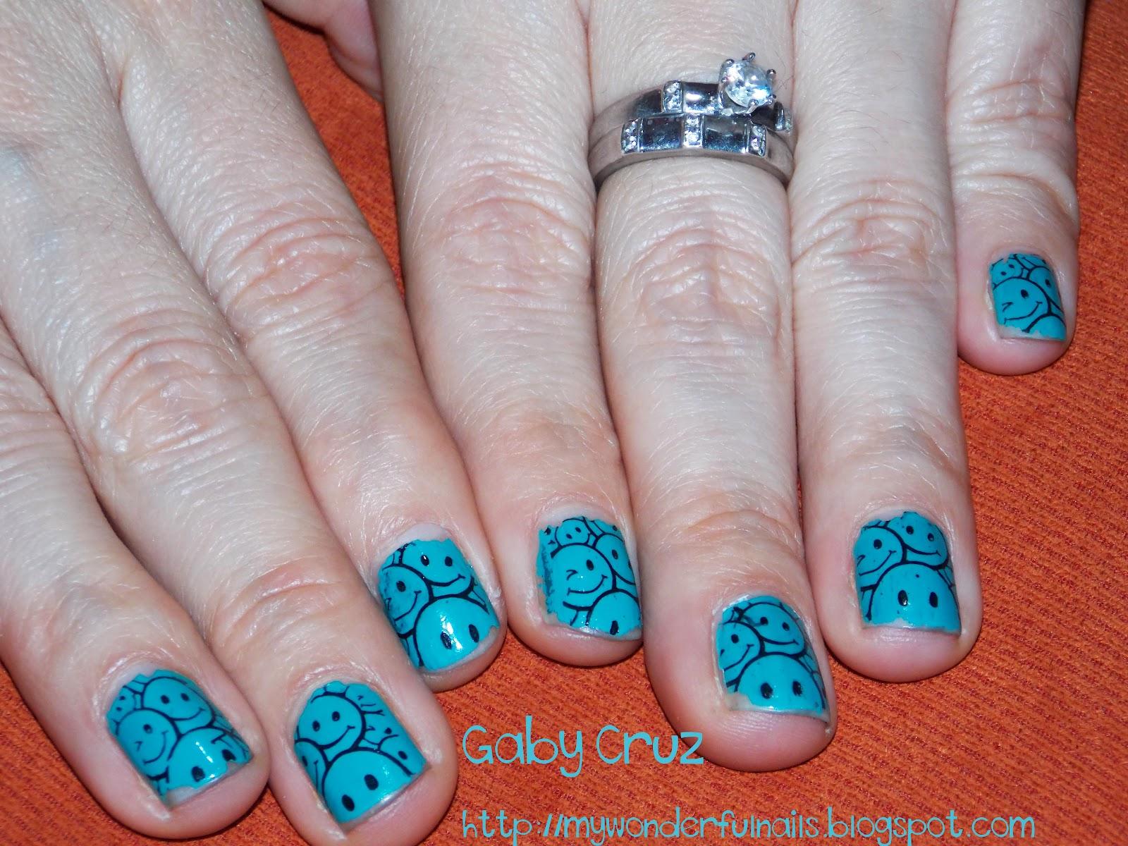 My Wonderful Nails Unas Caritas Felices