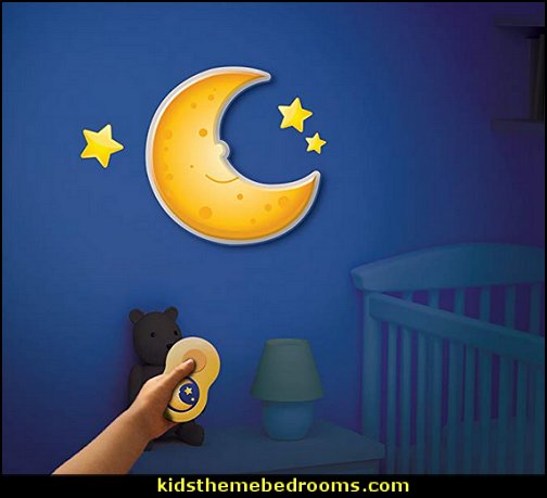 Uncle Milton In My Room Jr. Mr. Happy Moon Toddler Room Décor Night Light