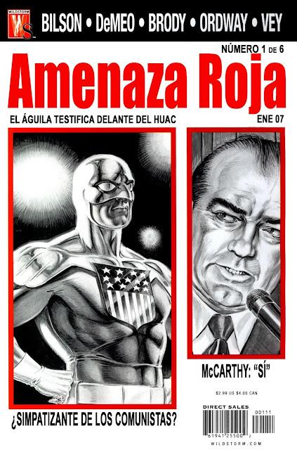 Amenaza roja - Portada