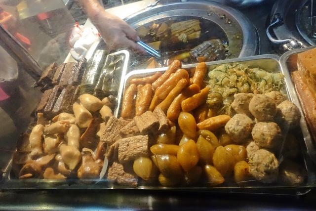 樹林夜市素食~新北市樹林火車站素食