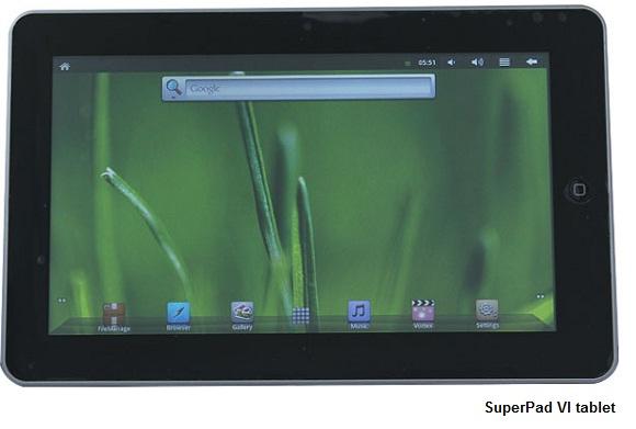 iRulu MID Google Android 2.3 tablet