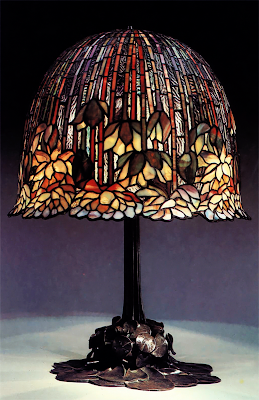 Lamp by Tiffany Studios (1902-38)