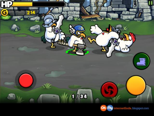 Free iPhone Game - Chicken Revolution : Warrior (Expired
