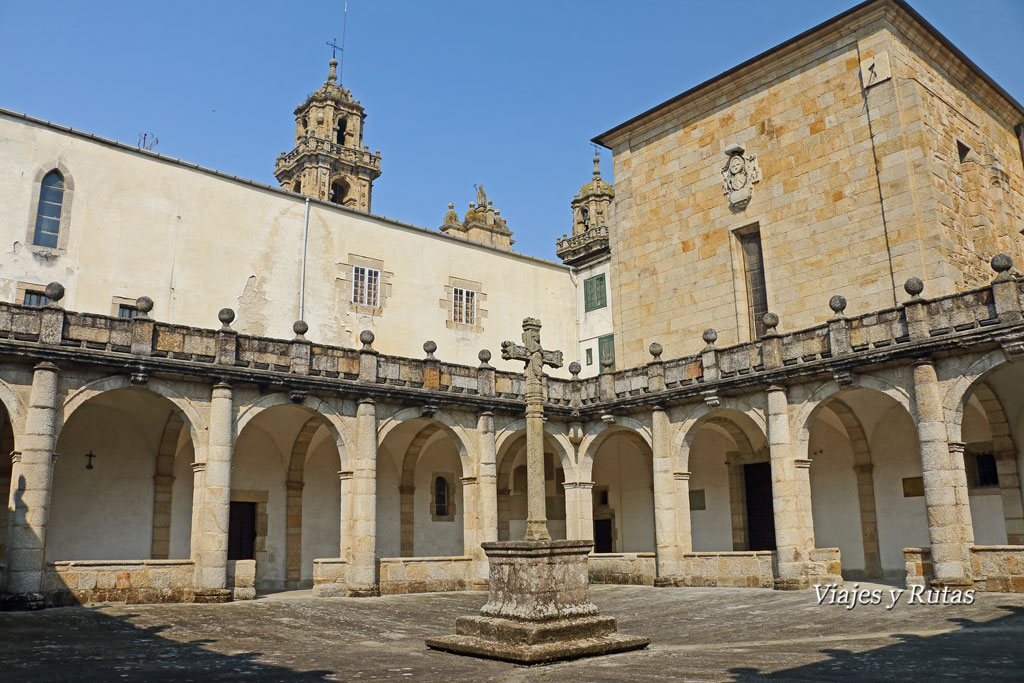 Claustro de la catedral de Mondoñedo