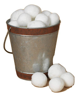 galvanized tub indoor snowballs