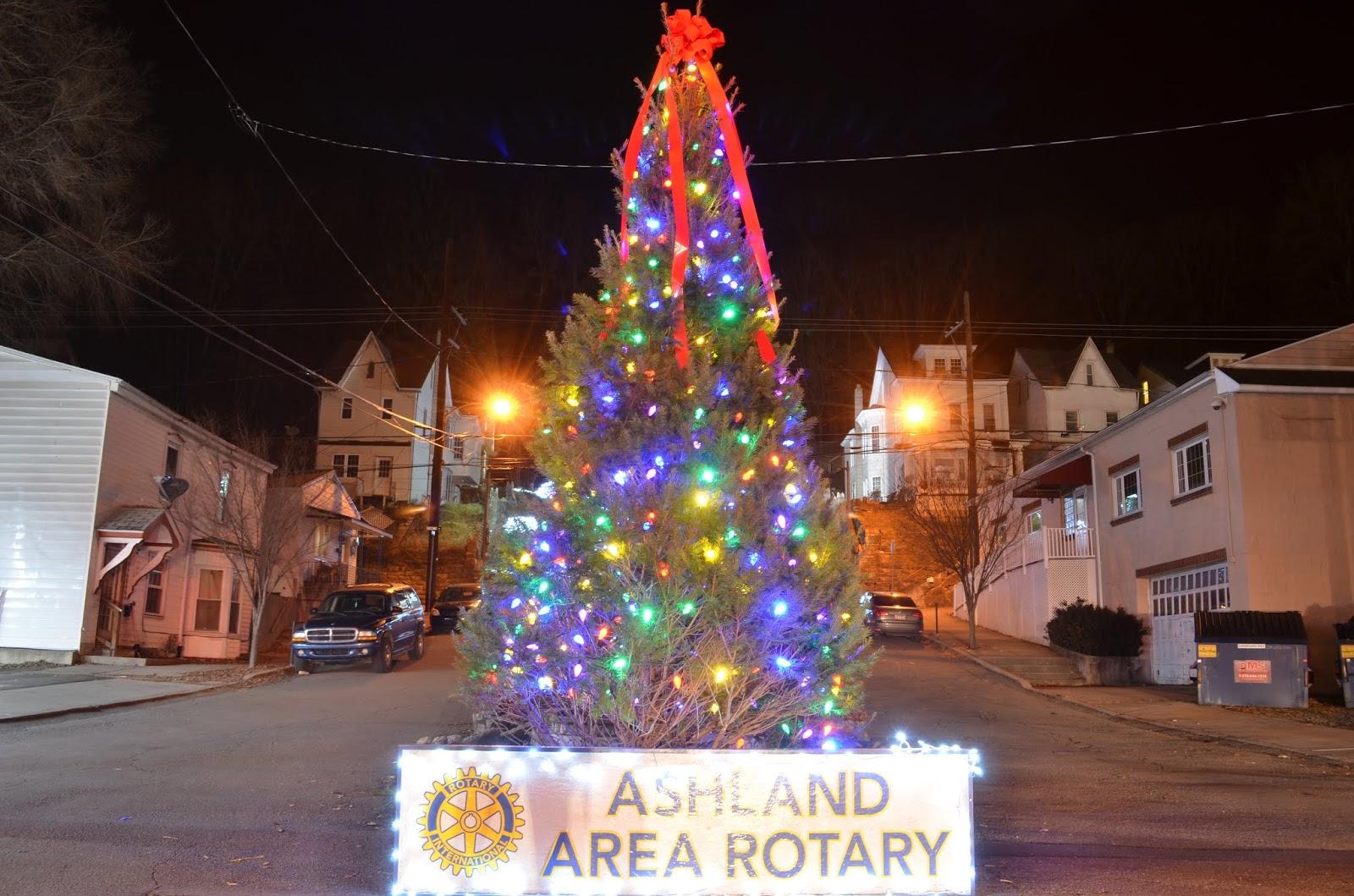 Ashland Christmas Trees.Skook News Ashland Area Rotary Purchases Borough Christmas Tree