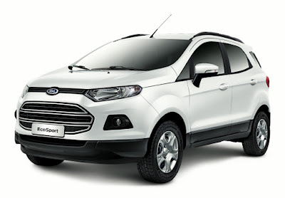 New 2016 Ford EcoSport front look crossover