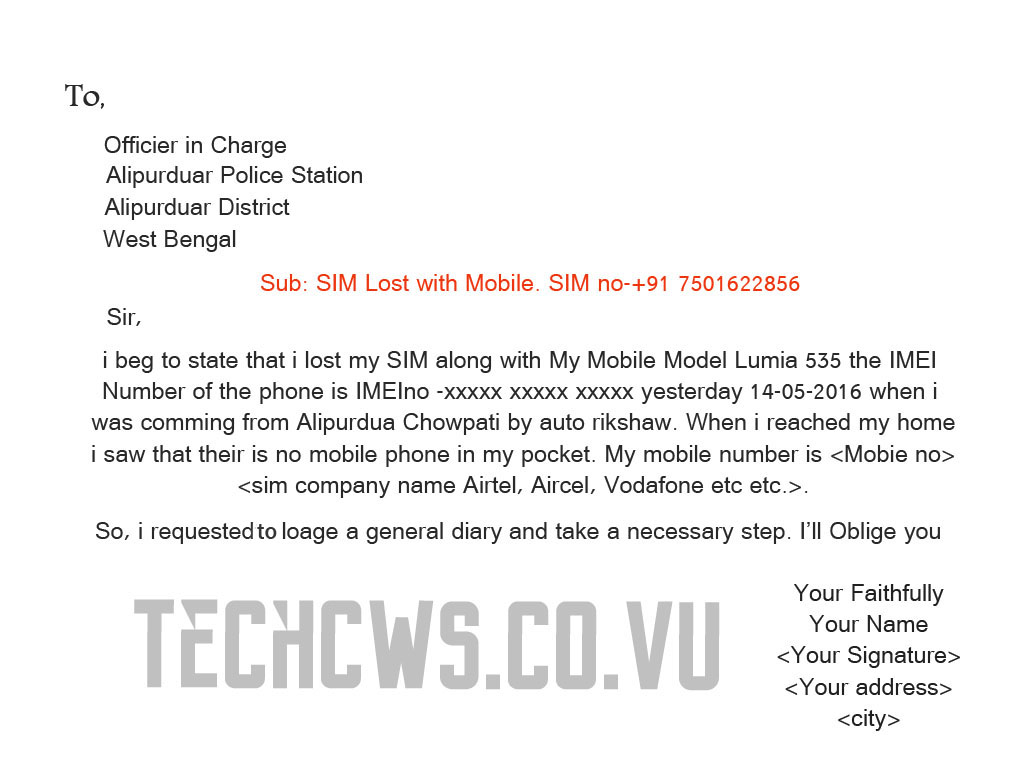 Application Letter To Vodafone The Document Co  Uk Best
