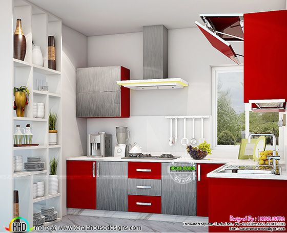 Kitchen interior works at Trivandrum, Kerala