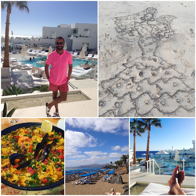 EUROPE 2015.....Lanzarote Canary Islands: Pool, Beach and Food: Blog Photo Recap!
