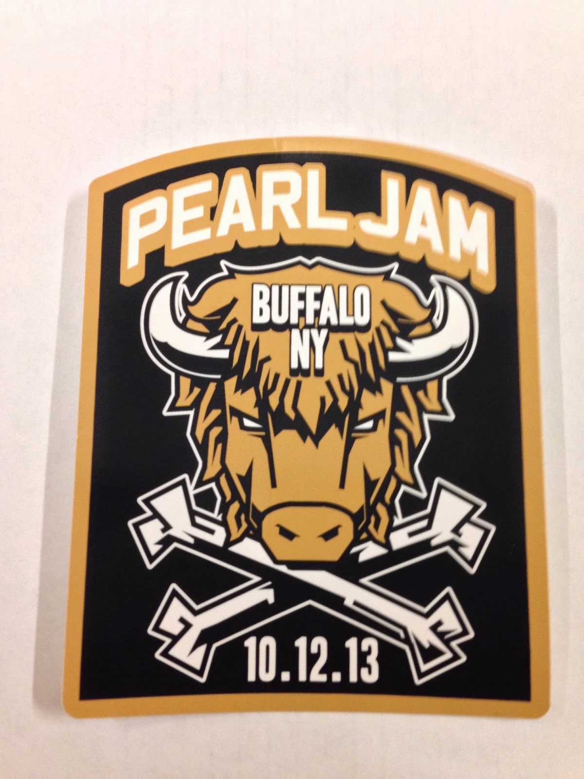Inside The Rock Poster Frame Blog Pearl Jam Buffalo