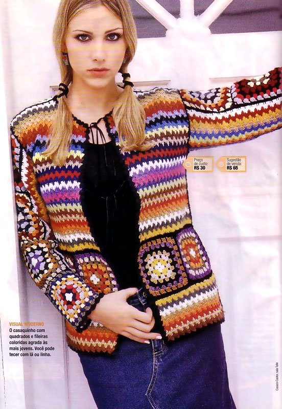 Patron Crochet Tunica \