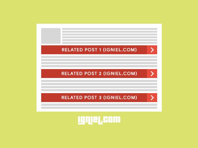 Memasang Banyak Artikel Terkait (Multiple Related Post) di Antara Paragraf dalam Postingan Blogger