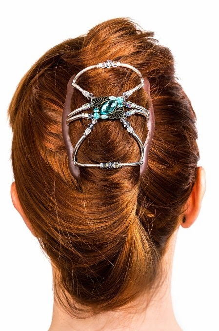 With Open Eyes To See Hair Bun Clip For Women Girls With Thick