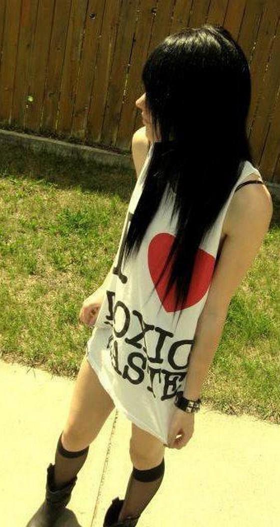 Skinny Emo Girl