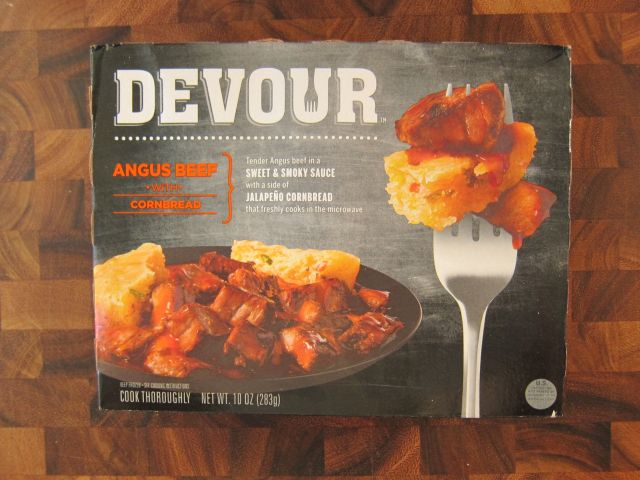 Frozen Friday Devour Angus Beef With Cornbread Brand Eating