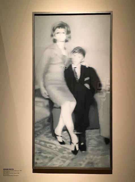 Helga Matura se svým snoubencem Gerhard Richter