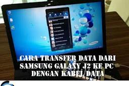 Cara Transfer Data dari SAMSUNG GALAXY J2 Ke PC dengan Kabel Data