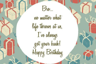Happy Birthday Quotes and messages for Brother