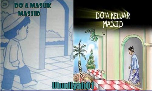 Bacaan Doa Keluar Masuk Masjid Lengkap Dengan Arinya
