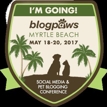 2017 BlogPaws I'm Going badge