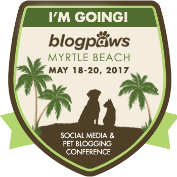 BlogPaws 2017 I'm Attending badge