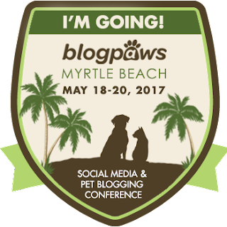 BlogPaws 2017 Conference I'm Going badge